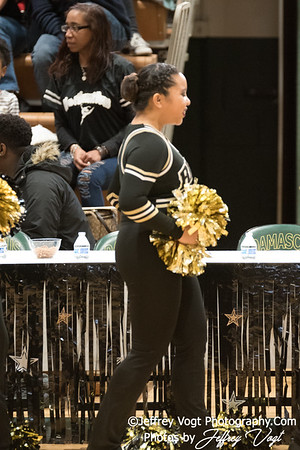 1-13-2018 Richard Montgomery HS at Damascus HS Poms Invitational Division 2, MoCoDaily, Photos by Jeffrey Vogt