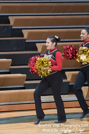 1-13-2018 Wheaton HS at Damascus HS Poms Invitational Division 3, MoCoDaily, Photos by Jeffrey Vogt
