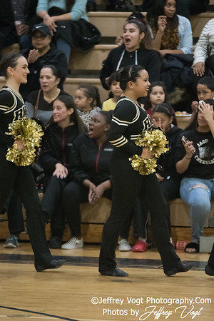 1-20-2018 Richard Montgomery HS at Northwest HS Poms Invitational Division 2, MoCoDaily, Photos by Jeffrey Vogt