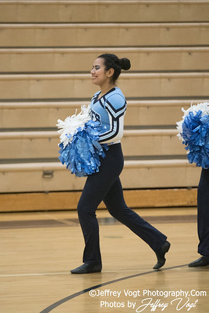 1-20-2018 Clarksburg HS at Northwest HS Poms Invitational Division 3, MoCoDaily, Photos by Jeffrey Vogt