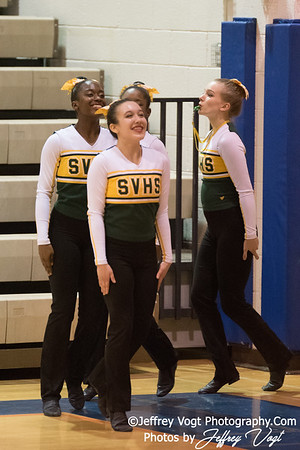 1-27-2018 Seneca Valley HS at Watkins Mill HS Pompons Invitational Division 3, MoCoDaily, Photos by Jeffrey Vogt