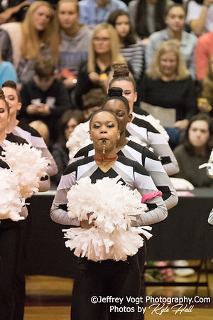 2/3/2018 Northwest HS at MCPS County Poms Championship Blair HS Division 2, Photos by Kyle Hall, MoCoDaily