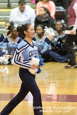 2/3/2018 Clarksburg HS at MCPS County Poms Championship Blair HS Division 3, Photos by Kyle Hall, MoCoDaily
