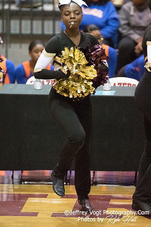 2/3/2018 Paint Branch HS at MCPS County Poms Championship Blair HS Division 3, Photos by Kyle Hall, MoCoDaily
