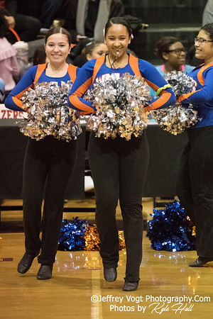 2/3/2018 Watkins Mill HS at MCPS County Poms Championship Blair HS Division 3, Photos by Kyle Hall, MoCoDaily