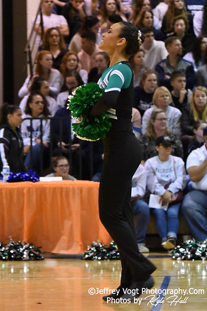 1-05-2019 Walter Johnson High School at Watkins Mill High School 2nd Annual Poms Invitational at Watkins Mill High School, Photos by Kyle Hall, MoCoDaily