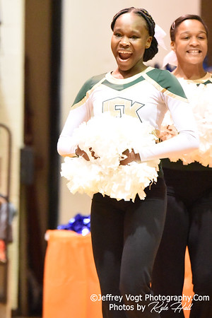 1-05-2019 John F. Kennedy High School at Watkins Mill High School 2nd Annual Poms Invitational at Watkins Mill High School, Photos by Kyle Hall, MoCoDaily