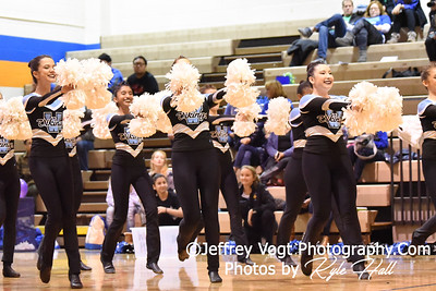 1-05-2019 Walt Whitman High School at Watkins Mill High School 2nd Annual Poms Invitational at Watkins Mill High School, Photos by Kyle Hall, MoCoDaily