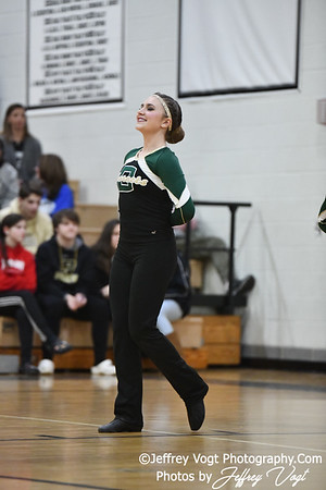 1-26-2019 Damascus High School Annual Poms Invitational,  Division 1 Varsity Poms, at Northwest High School, Photos by Jeffrey Vogt, MoCoDaily