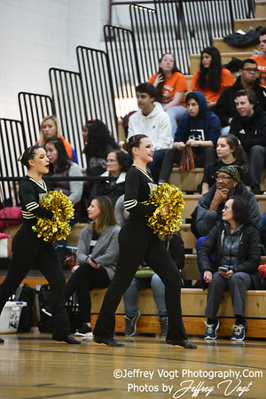 1-26-2019 Poolesville High School Annual Poms Invitational,  Division 1 Varsity Poms, at Northwest High School, Photos by Jeffrey Vogt, MoCoDaily
