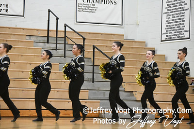 1-26-2019 Richard Montgomery High School Annual Poms Invitational,  Division 2 Varsity Poms, at Northwest High School, Photos by Jeffrey Vogt, MoCoDaily