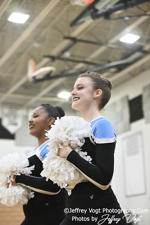 1-26-2019 Walt Whitman High School Annual Poms Invitational,  Division 2 Varsity Poms, at Northwest High School, Photos by Jeffrey Vogt, MoCoDaily