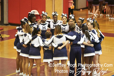 10-25-2018 Colonel Zadok Magruder High School at MCPS D3 Cheerleading Championship at Montgomery Blair High School, Photos by Jeffrey Vogt, MoCoDaily