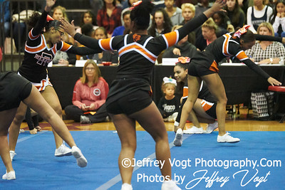 10-25-2018 Rockville High School at MCPS D3 Cheerleading Championship at Montgomery Blair High School, Photos by Jeffrey Vogt, MoCoDaily