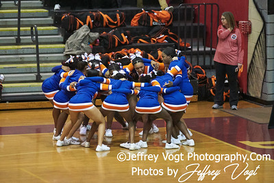 10-25-2018 Watkins Mill High School at MCPS D3 Cheerleading Championship at Montgomery Blair High School, Photos by Jeffrey Vogt, MoCoDaily