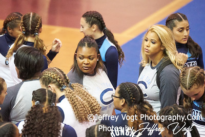 10-27-2018 Clarksburg High School at MCPS D1 Cheerleading Championship at Montgomery Blair High School, Photos by Jeffrey Vogt, MoCoDaily