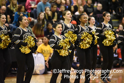 2/2/2019 Richard Montgomery HS at MCPS County Poms Championship Blair HS Division 2, Photos by Kyle Hall, MoCoDaily