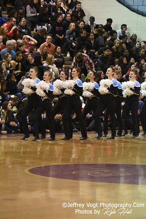 2/2/2019 Walt Whitman HS at MCPS County Poms Championship Blair HS Division 2, Photos by Kyle Hall, MoCoDaily