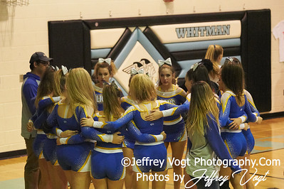10-13-2018 Liberty High School Varsity Cheerleading at the Walt Whitman 4th Annual Cheerleading Competition, Photos by Jeffrey Vogt, MoCoDaily