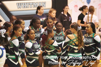 10-13-2018 St. Charles High School Varsity Cheerleading at the Walt Whitman 4th Annual Cheerleading Competition, Photos by Jeffrey Vogt, MoCoDaily