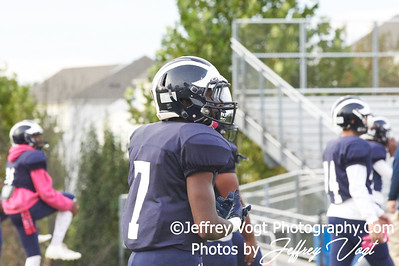 10-19-2018 Magruder HS vs Springbrook HS Varsity Football at Magruder HS, Photos by Jeffrey Vogt Photography of MoCoDaily