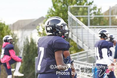 10-19-2018 Magruder HS vs Springbrook HS Varsity Football at Magruder HS, Photos by Jeffrey Vogt Photography of MoCoDaily