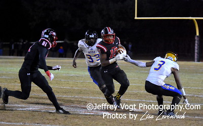 11-23-2018 Quince Orchard HS vs Wise HS Semi Final Playoff Varsity Football at Quince Orchard HS, Photos by Lisa Levenbach of Jeffrey Vogt Photography of MoCoDaily