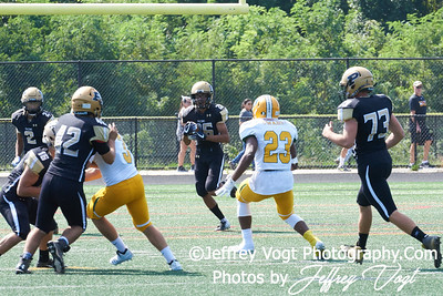 9-29-2018 Poolesville HS vs Damascus HS Varsity Football at Gaithersburg HS, Photos by Jeffrey Vogt Photography of MoCoDaily