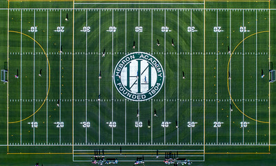 Game On: The Hebron Academy and Tilton School's field hockey teams christen the new turf field at Hebron Acedemy.