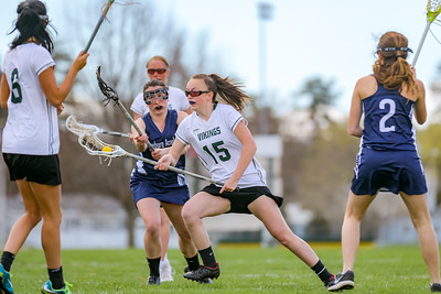 Oxford Hills' Molly Littlefield makes a move towards the goal in her game against Fryburg Academy Saturday.