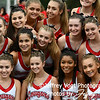 Quince Orchard HS Varsity Cheerleading and Poms at Quince Orchard HS, North Potomac Maryland, 9/13/2019