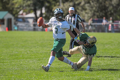 Bonney Eagle's Terrell Edwards gets away from Oxford Hills' Isaiah Oufiero.