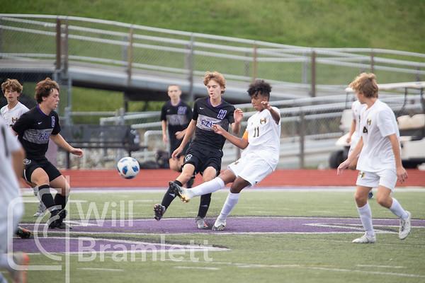 Boys Soccer: Fort Zumwalt West vs Wentzville Holt