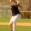04-07-2010...Midland Park pitcher Shawn Bartosik on the mound against Waldwick.<br /> PHOTO: KELLY BIRDSEYE