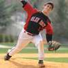 Glen Rock pitcher Matt Lawsky on the mound.<br /> PHOTO: KELLY BIRDSEYE