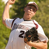 04/30/2010...Don Bosco's Eric Stevens on the mound against St. Joseph<br /> PHOTO: KELLY BIRDSEYE