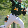 04/30/2010...St. Joseph pitche Artie Lewicki on the mound against Don Bosco.<br /> PHOTO: KELLY BIRDSEYE
