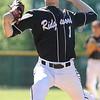 05/06/2010...Ridgewood pitcher Mark Lowy on the mound against St. Joseph.<br /> PHOTO: KELLY BIRDSEYE