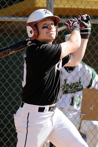 05/06/2010...Ridgewood's Chris Rota at bat against St. Joseph.<br /> PHOTO: KELLY BIRDSEYE