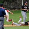 05/28/2010...Billy Taylor of  Northern Highlands gets back to first base safely on a bad pick off attempt.<br /> PHOTO: KELLY BIRDSEYE