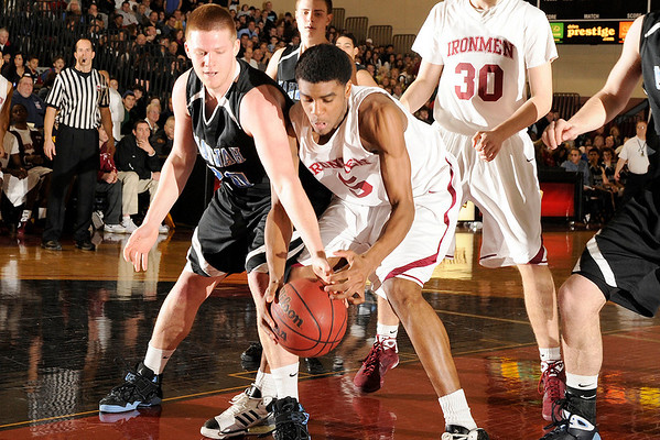 02-15-2009 HS Boys Basketball Don Bosco 52 vs Mahwah 50 at Ramapo College