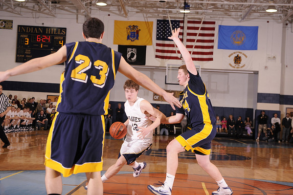 03-09-2010 HS Boys Basketball Pequannock 67 at Indian Hills 56