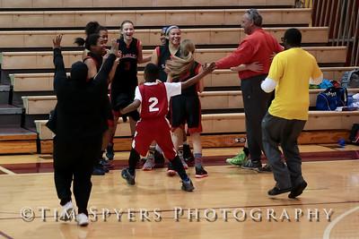Immanuel Basketball City Playoffs