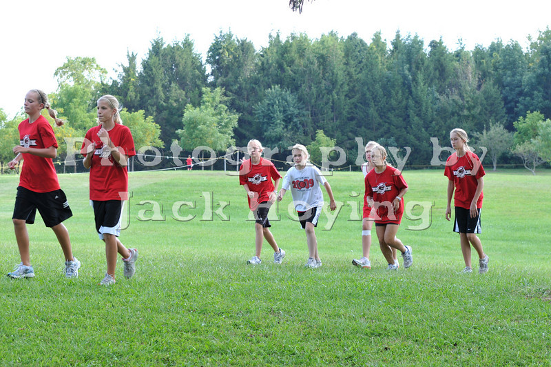 Quad Meet-Junior Hight Girls 09-08-2009