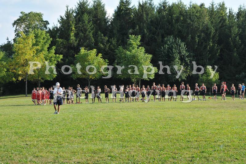 Quad Meet, High School Boys 09-08-2009