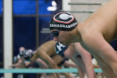 Thursday at the Sheehan High School Natatorium in Wallingford  February 1, 2018 | Justin Weekes / Special to the Record-Journal
