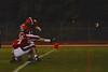 Baldwinsville Bees Tom Scarfino (11) kicks an extra point against the Fayetteville-Manlius Hornets at Pelcher-Arcaro Stadium in Baldwinsville, New York on Friday, September 26, 2014. Baldwinsville won 39-6.
