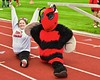 Baldwinsville Bees hosted the Utica-Proctor Raiders in Section III Football action at the Pelcher-Arcaro Stadium in Baldwinsville, New York on Friday, October 2, 2015. Baldwinsville won 35-34.