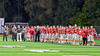 Baldwinsville Bees hosted the Cicero-North Syracuse Northstars in Section III Football action at the Pelcher-Arcaro Stadium in Baldwinsville, New York on Friday, October 7, 2016. Cicero-North Syracuse won 20-7.