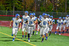 Cicero-North Syracuse Northstars take the field against the Baldwinsville Bees in Section III Football action at the Pelcher-Arcaro Stadium in Baldwinsville, New York on Friday, October 7, 2016. Cicero-North Syracuse won 20-7.